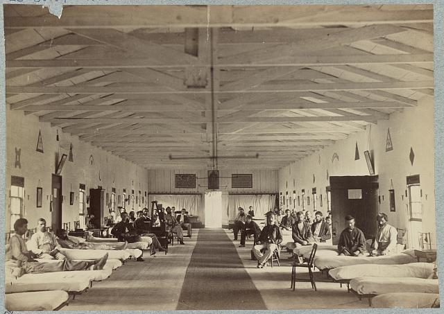 Ward K, Armory Square Hospital, Washington, D.C.