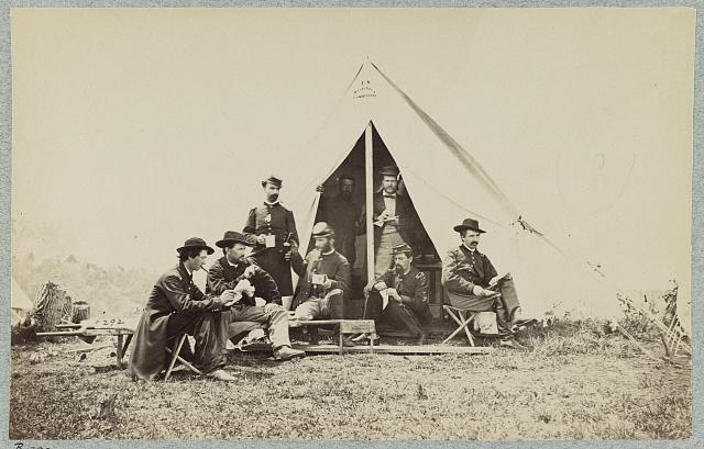 Sanitary Commission tent, White House Landing, Va.