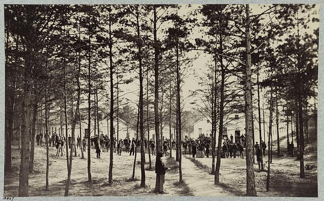 Convalescent camp, near Alexandria, Va.