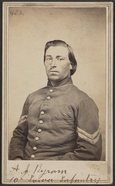 A. J. Byram, 10th Iowa Infantry
