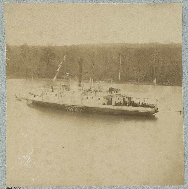 "Gunboat ""Commodore Perry"", James River, Va."
