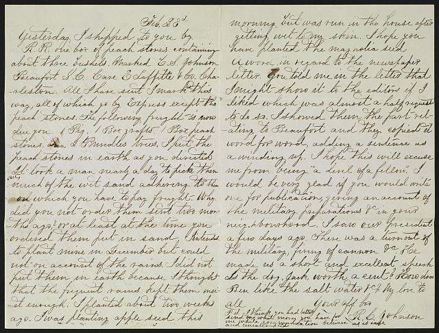[Letter from R. Cecil Johnson, Atlanta, to C. Smith Johnson]