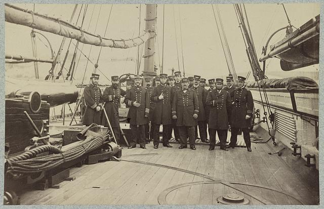 Officers of U.S.S. Kearsarge
