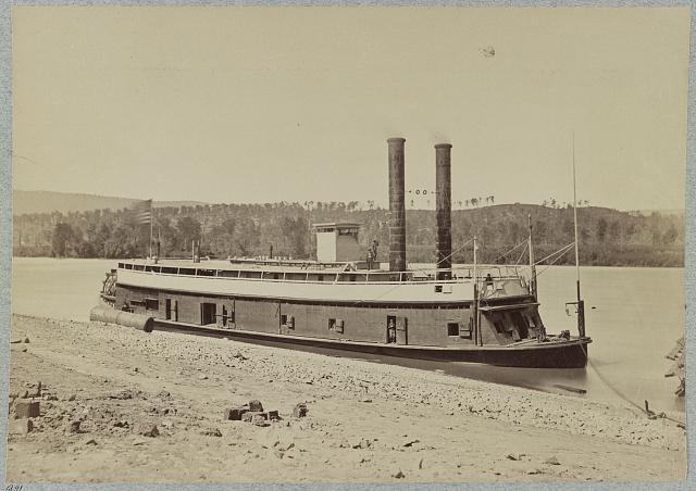 U.S. gunboat General Grant, Tennessee River