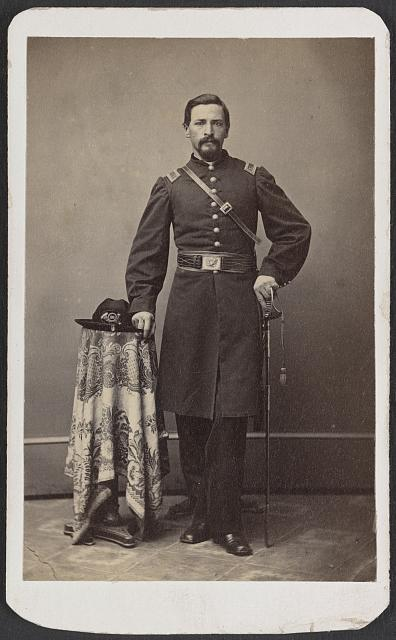 [Captain Ferdinand F. Boltz of Co. S, 12th Indiana Infantry Regiment, and Co. F, 88th Indiana Infantry Regiment]
