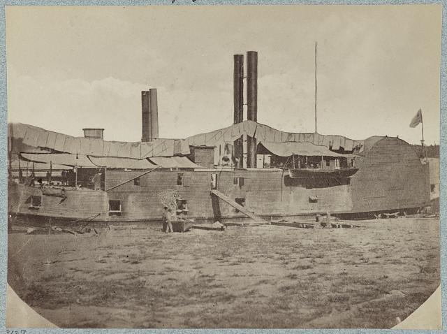 U.S. gunboat Tyler - Mississippi River Fleet