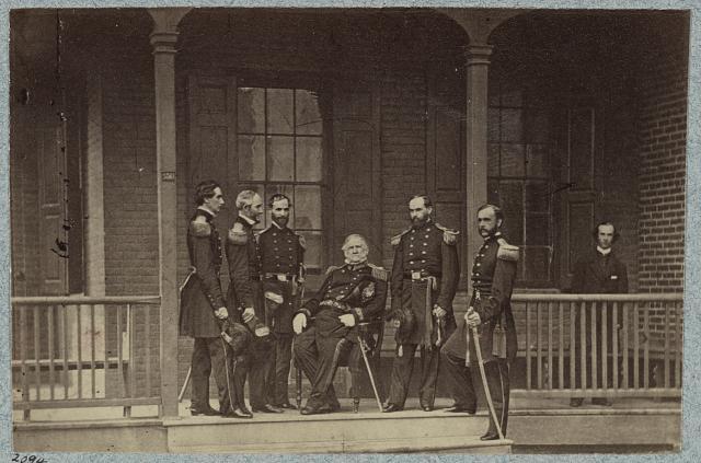 General Winfield Scott & Staff