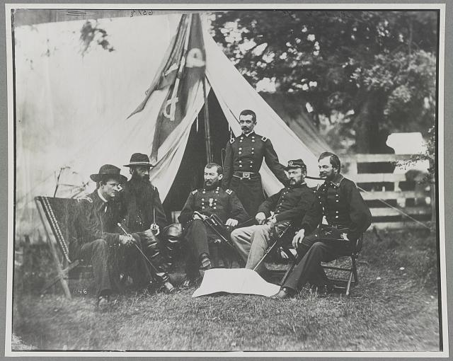 Sheridan, Gen. Phil & staff
