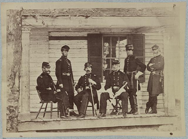 Brig. General J. S. Wadsworth and staff