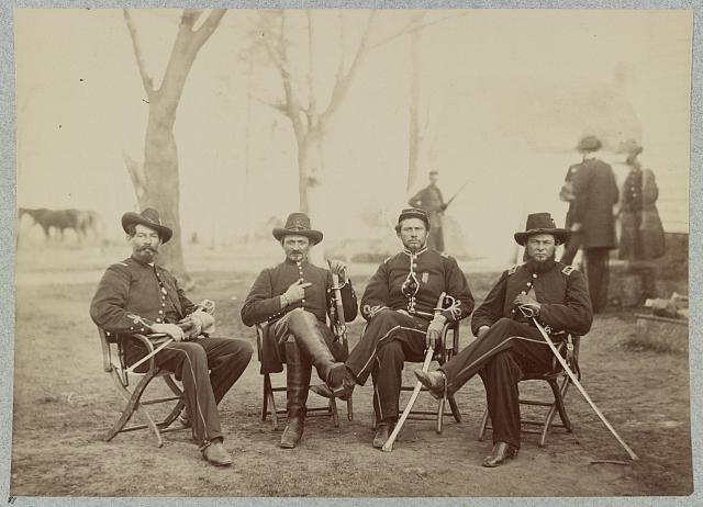 Provost Marshals of 3rd Army Corps, December, 1863