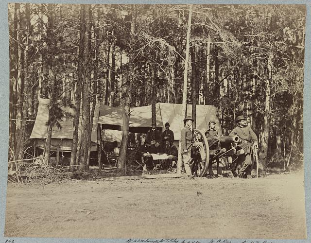 Officers of U.S. Horse Artillery, Culpeper, Va., September 1863
