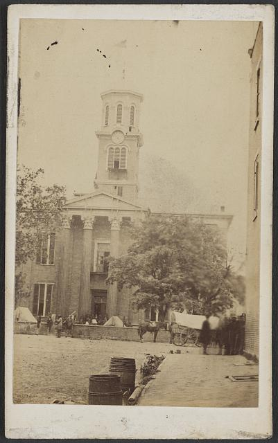 Court house, Murfreesboro, Tenn. Quarters of provost guard of General Geary's command /