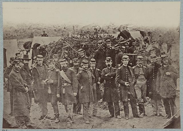 Officers of 14th U.S. Infantry, March, 1862