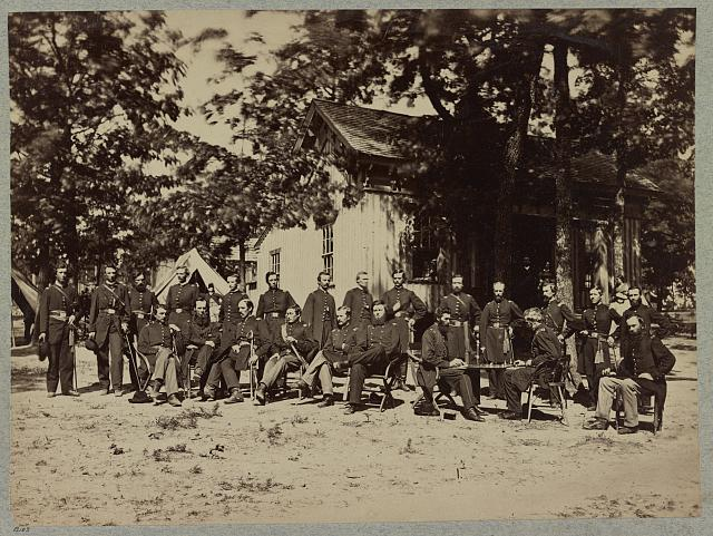 Officers of 21st Michigan Infantry