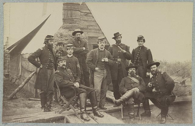 Officers of 119th Pennsylvania Inf'y