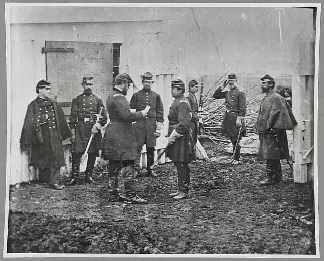Officers, 1st Conn. Heavy Artillery (hdq), Ft. Richardson, Arlington, Va.