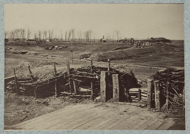 Confederate fortifications at Manassas, Va.