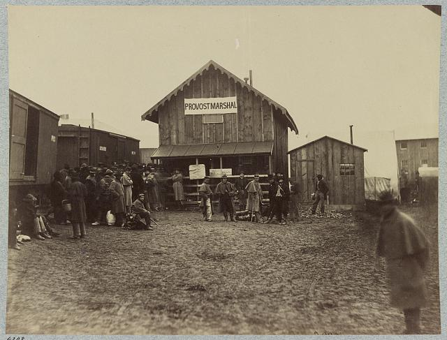 Provost Marshal's office, Acquia [i.e. Aquia] Creek Landing, Va., February 1863