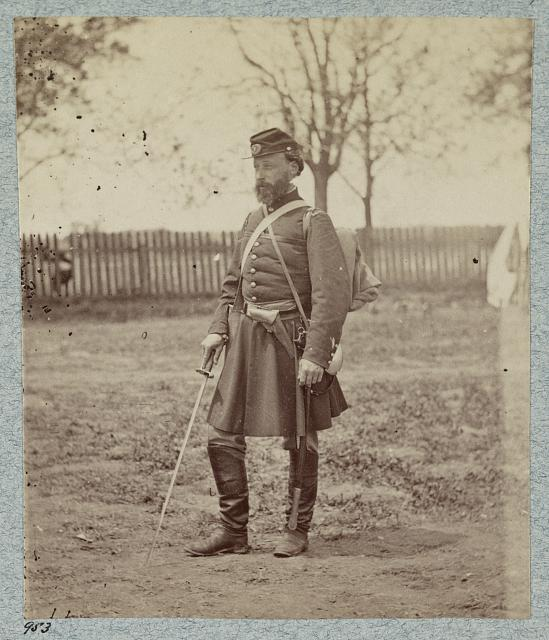 7th New York State Militia, Camp Cameron, D.C., 1861.