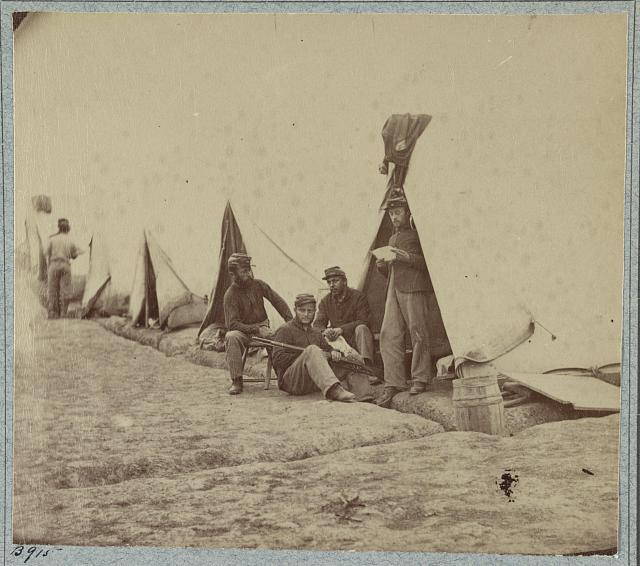 22d New York State Militia near Harpers Ferry, Va., 1861
