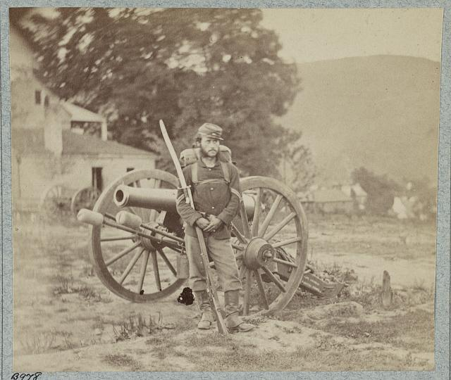 22d New York State Millitia near Harpers Ferry, Va., 1861 [i.e. 1862]