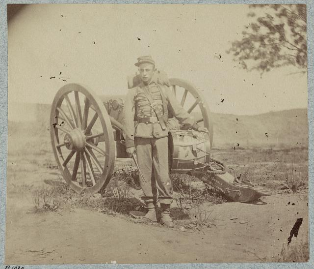 22d New York State Militia near Harpers Ferry, Va., 1861(?)