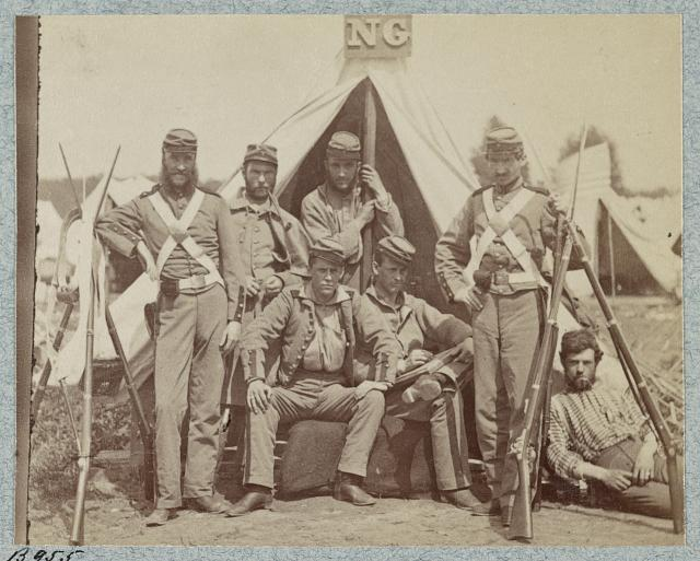 7th N.Y. State Militia, Camp Cameron, D.C., 1861