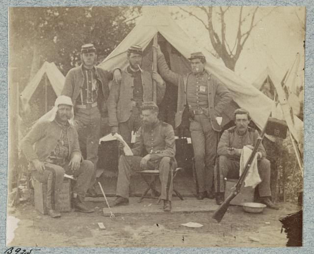 7th New York State Militia, Camp Cameron, D.C., 1861