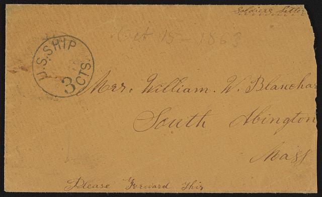 [Civil War envelope]