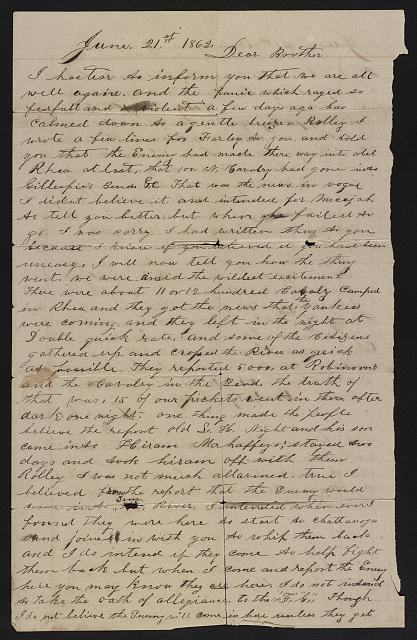[Letter from Spencer G. Clack to W.R. Clack]