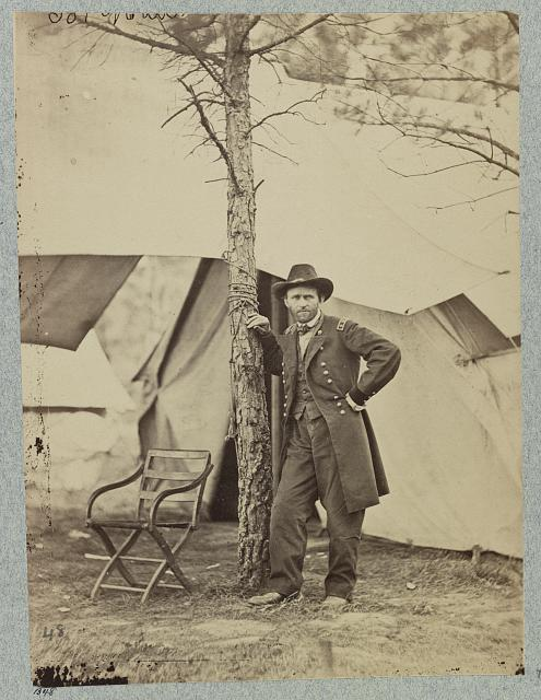 General U. S. Grant, City Point, Va., August, 1864