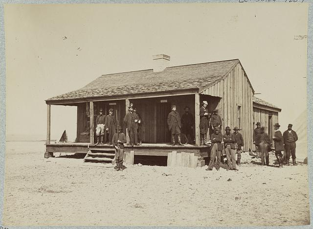 Quartermaster's office, Fort Fisher, N.C.