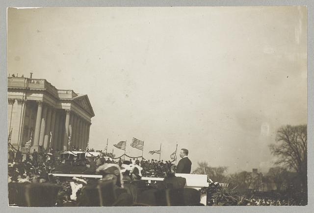 Roosevelt speaking
