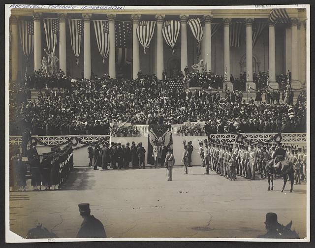 [Inauguration of President Theodore Roosevelt at the U.S. Capitol]