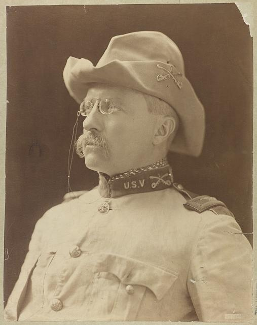 [Col. Theodore Roosevelt in uniform]