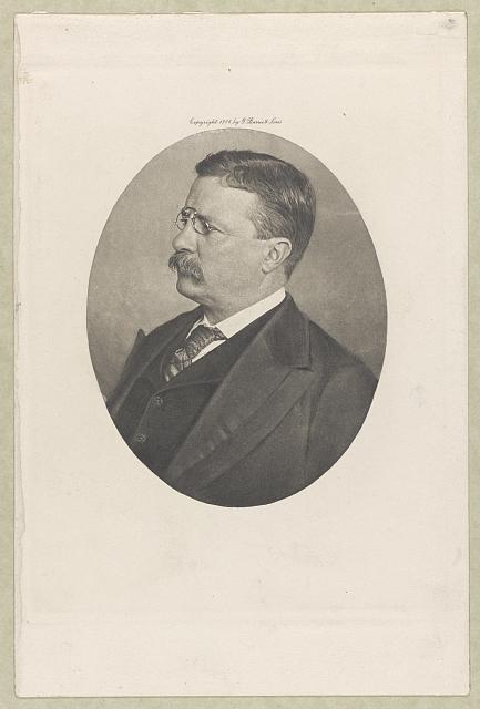 Theodore Roosevelt From a hitherto unpublished photograph.