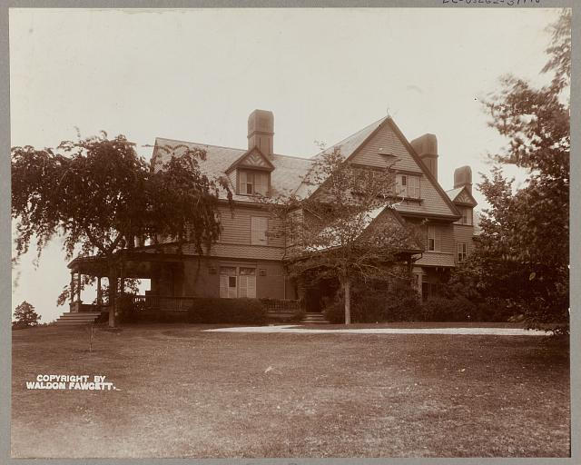 New York, Oyster Bay, Roosevelt estate