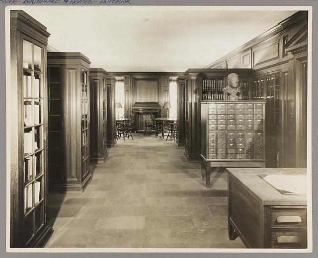 Roosevelt House, New York Memorial library.