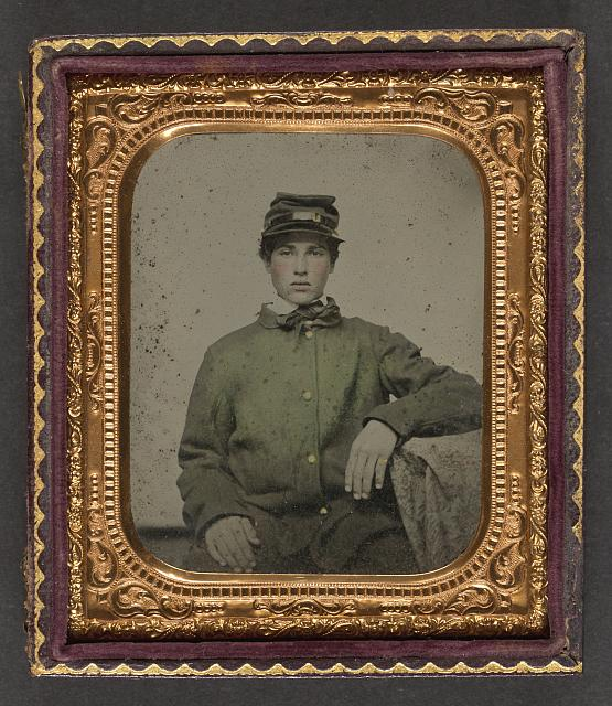 [Unidentified soldier in uniform]
