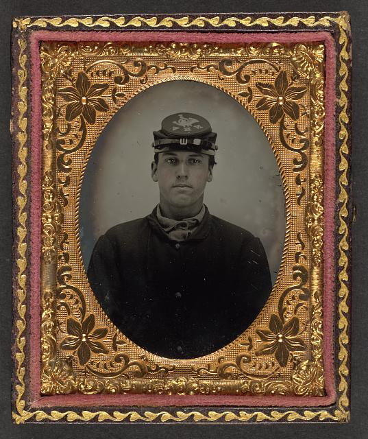 [Lorenzo Hawkins of Company I, 12th Regiment New Hampshire Volunteers]