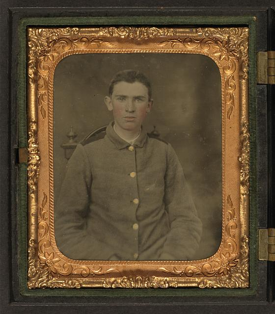 [Private W.T. Harbison of Company B, 11th North Carolina Infantry Regiment]