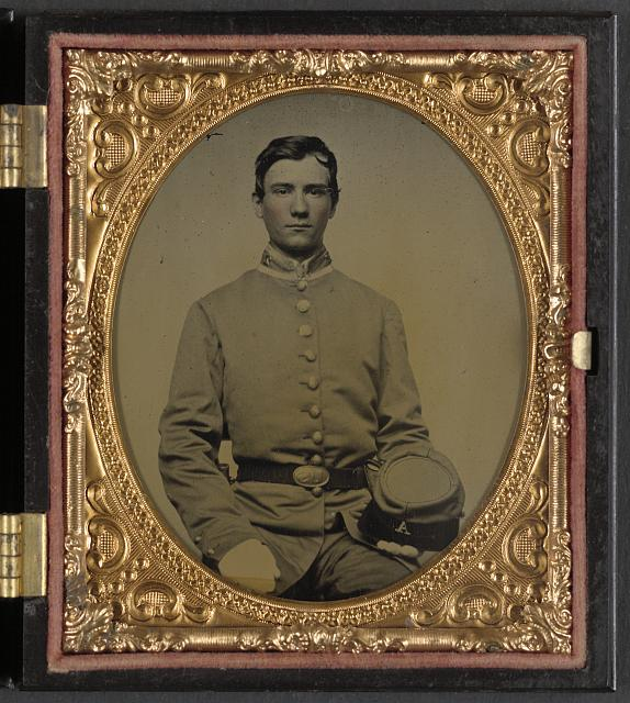 [Private Samuel T. Cowley of Co. A, 2nd Virginia Infantry Regiment]