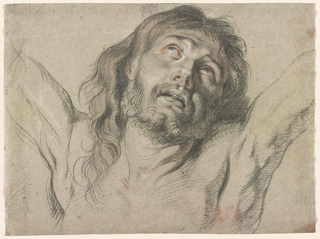 [Head of the savour in agony. Ecce Homo!]