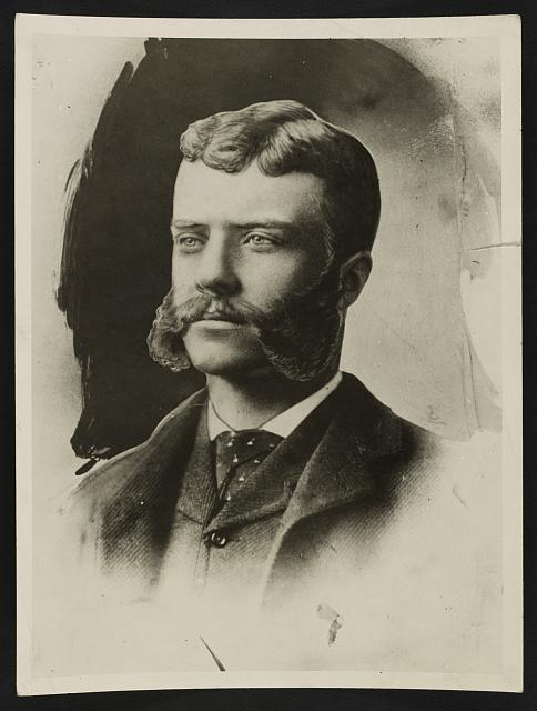 Theodore Roosevelt when he was affiliated with Washington [??] in 1882