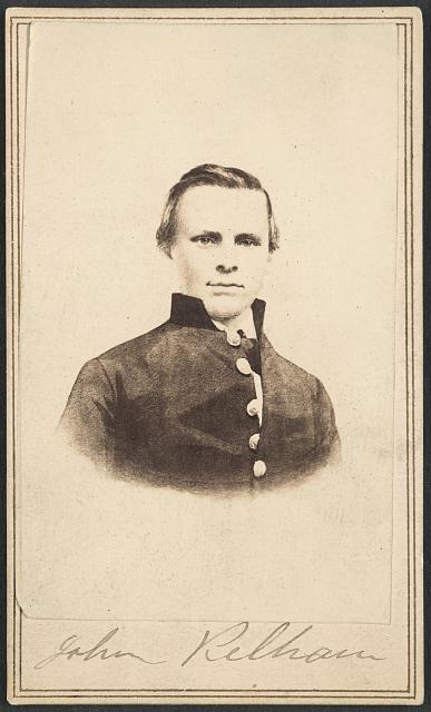 [Major John C. Pelham of Alburtis Light Artillery and 1st Co. Stuart Horse Virginia Light Artillery Battery in uniform]