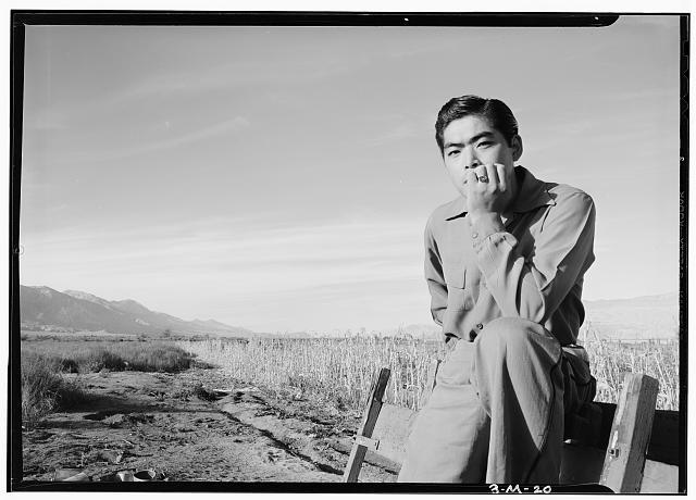 Tom Kobayashi, Landscape, Manzanar Relocation Center, California
