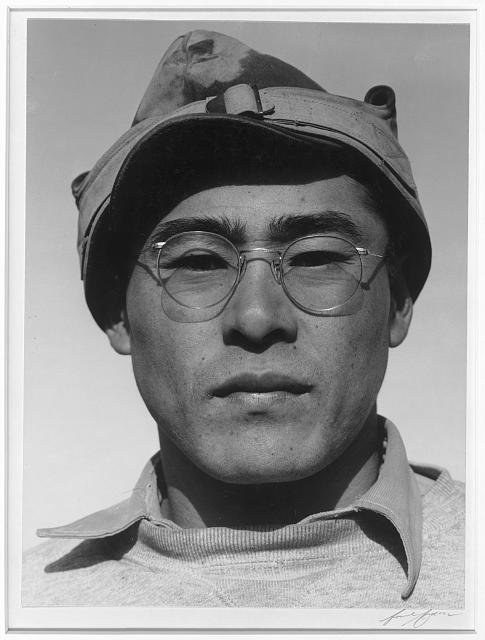 Ryobe Nojima, farmer, Manzanar Relocation Center, Calif.