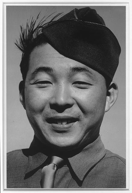 Private Kato, Manzanar Relocation Center, California