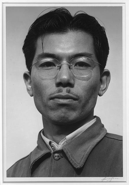 Frank Noboo Horosawa [i.e., Hirosawa], rubber chemist, Manzanar Relocation Center, California
