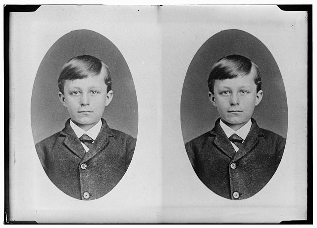[Childhood portrait of Wilbur Wright]
